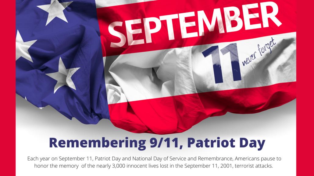 september 9/11 remembrance